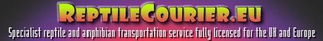 Reptile Courier EU banner
